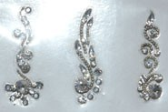 Silver Designer Bindi