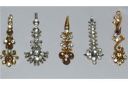 MIXED Gold & Silver DESIGNER BINDIS