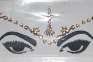 Bridal Peer for forehead - Gold