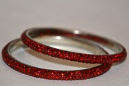 Sparkly Red Crystal Bangle